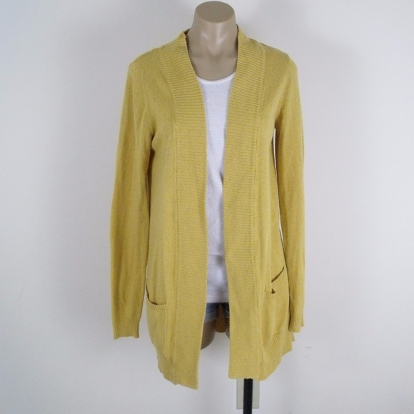 Staring At Stars Sweaters Mustard Yellow Cardigan Sweater Poshmark